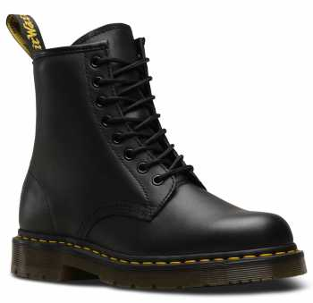 Dr. Martens DMR24382001 1460 Originals 8-Eye, Unisex, Black, Soft Toe, Slip Resistant, 6 Inch Boot