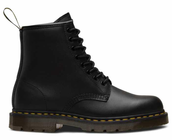 Dr. Martens DMR24382001 1460 Originals 8-Eye, Unisex, Black, Soft Toe, Slip Resistant, 6 Inch Boot