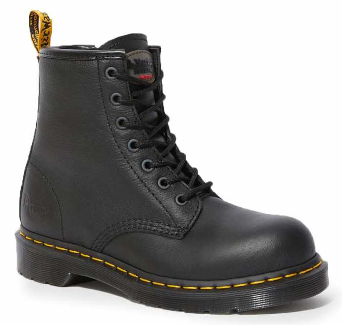 Dr. Martens DMR24615001 Maple, Women's, Black, Steel Toe, EH, 6 Inch Boot
