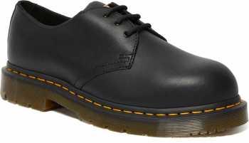 Dr. Martens DMR26310001 1461 Men's, Black, Steel Toe, EH, Slip Resistant Oxford