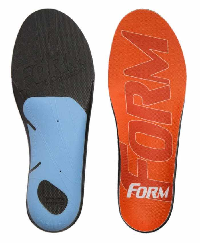 Form Reinforced Insole With EnduraHeel Arch And Heel Plating For High Impact Footwear