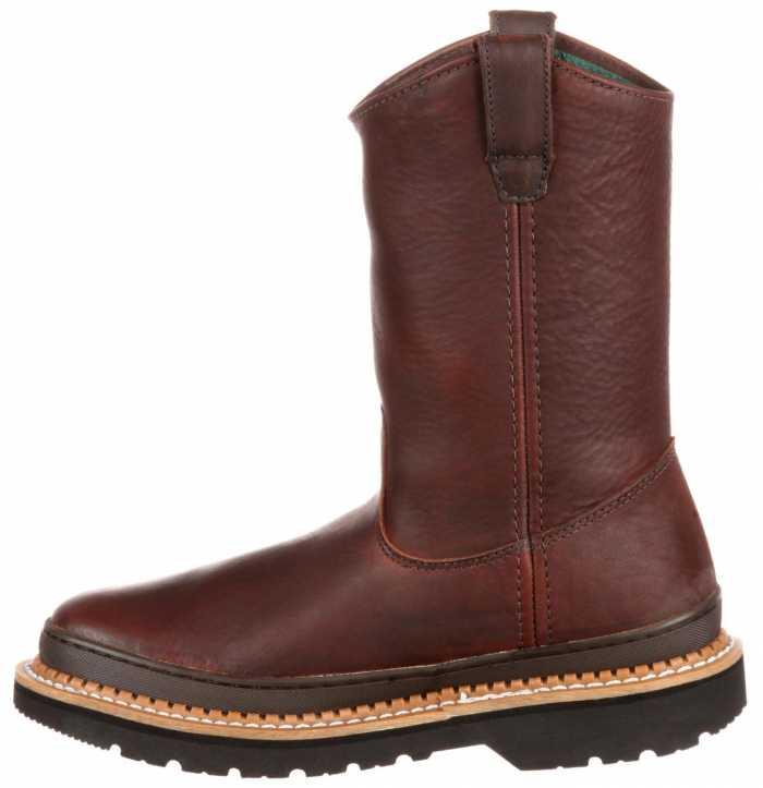 Georgia Boot GA4274 Men's, Brown, Soft Toe, Pull On Boot