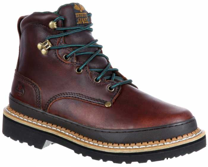 Georgia Boot GA6374 Georgia Giant, Men's, Brown, Steel Toe, EH, 6 Inch Boot