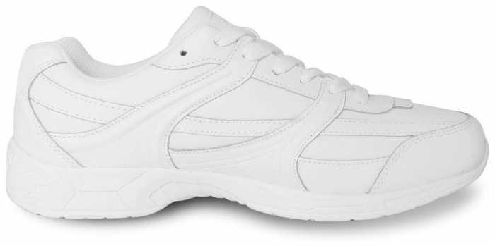 Genuine Grip GGM1115 Women's, White, Soft Toe, Slip Resistant, Athletic Oxford