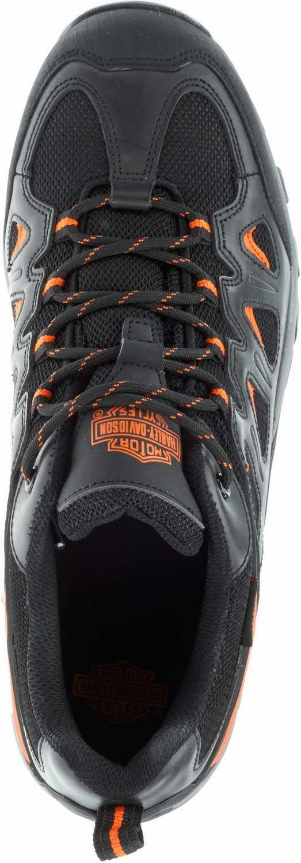 Harley Davidson HD93327 Eastfield, Men's, Black, Comp Toe, EH, Low Athletic