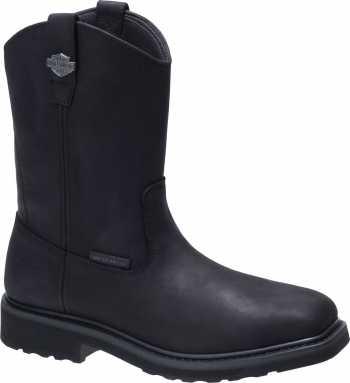 Harley Davidson HD93563 Altman, Men's, Black, Composite Toe, EH, Pull On Boot