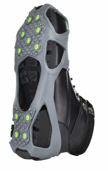 Winter Walking JD350 EASY-SPIKE, Unisex, Grey, Over The Shoe Traction Device