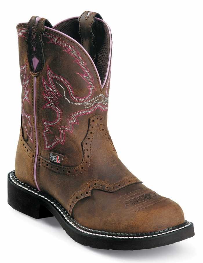 Justin JUWKL9980 Wanette, Women's, Justin Gypsy, Steel Toe, EH, Pull On Boot