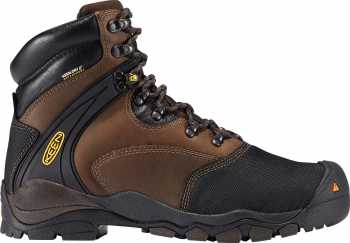 KEEN Utility KN1007969 Louisville, Men's, Slate Black, Steel Toe, EH, Mt, WP, 6 Inch