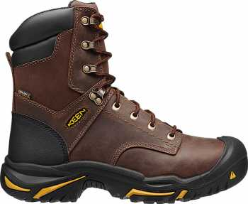 KEEN Utility KN1013257 Mt. Vernon Men's, Brown, 8 Inch, Steel Toe, EH, Waterproof Boot