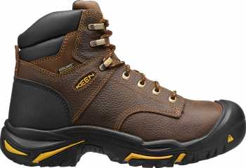 KEEN Utility KN1014600 Mt. Vernon Brown, Men's, Soft Toe, 6 Inch Work Boot
