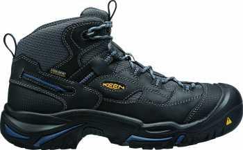 KEEN Utility KN1014605 Braddock, Raven/Estate Blue, Men's, Soft Toe, EH, WP Hiker