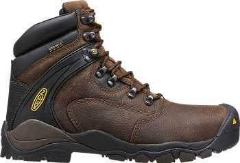 KEEN Utility KN1015401 Louisville Cascade Brown, Steel Toe, EH, Waterproof, Men's Hiker