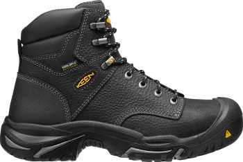 KEEN Utility KN1016778 Mt. Vernon, Men's, Black, Steel Toe, EH, WP, 6 Inch Boot