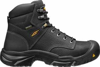 KEEN Utility KN1016778 Mt. Vernon, Men's, Black, Steel Toe, EH, WP, 6 Inch Boot