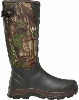 LaCrosse LC376121 4XAlpha, Men's, Soft Toe, Camo, Snake Boot
