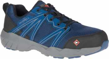 Merrell MLJ17535 Fullbench Superlite, Men's, Blue Wing, Alloy Toe, EH Athletic