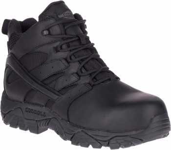 Merrell MLJ17551 Tactical Response, Men's, Black, Comp Toe, EH, WP Hiker