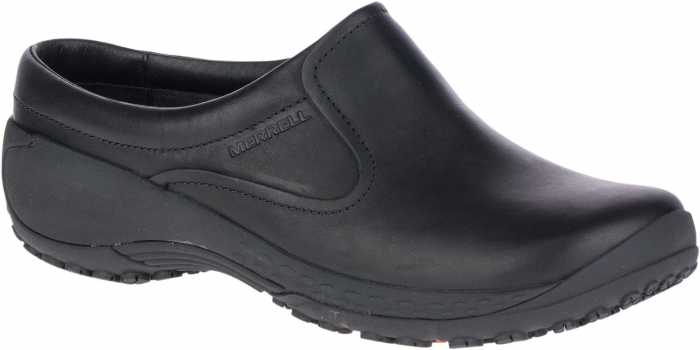 Merrell MLJ45364 Encore Slide Q2 Pro, Women's, Black, Soft Toe Slide