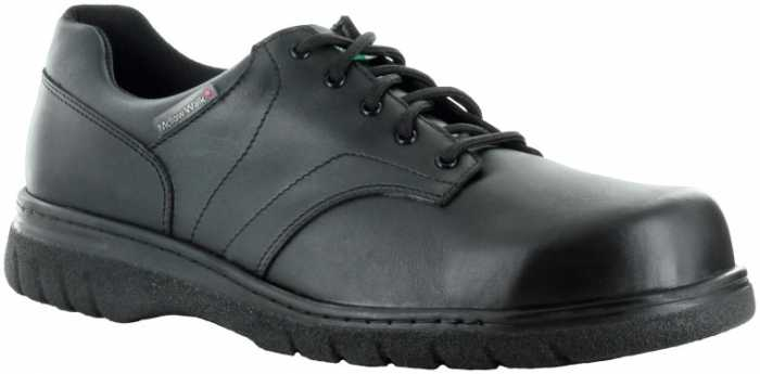 Mellow Walk MW500089 Jack, Men's, Black, Steel Toe, EH, PR, X-Wide Oxford