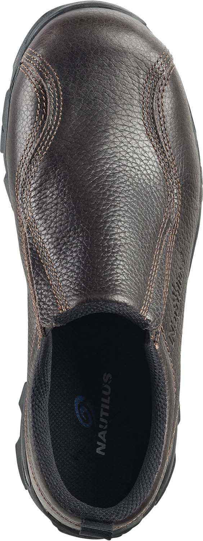 Nautilus 1621 Women's Chocolate Static Dissipative, Steel Toe, Slip On