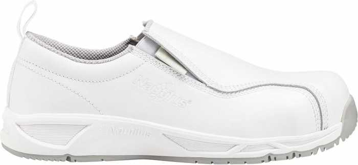Nautilus N1651 Women's, White Comp Toe, SD, Twin Gore Slip On
