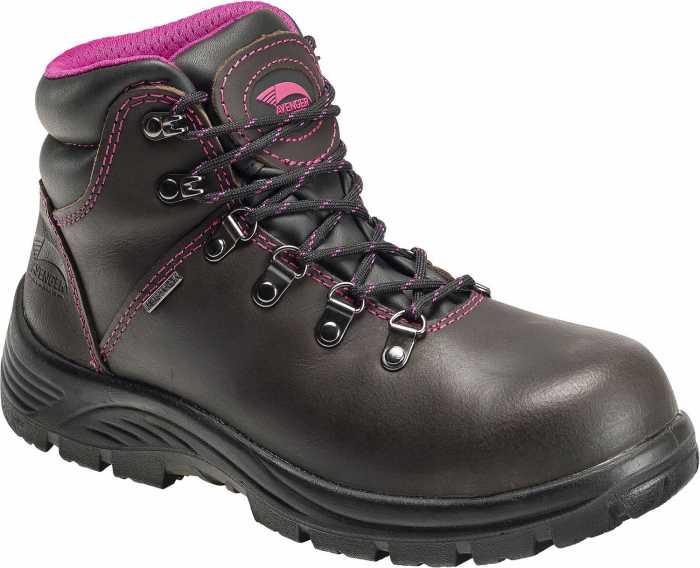 Avenger N7125 Women's, Brown, Steel Toe, EH, WP Hiker