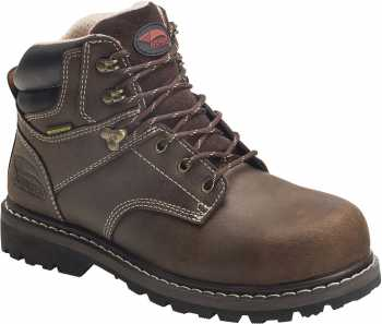 Nautilus/Avenger N7136 Saber, Women's, Brown, Steel Toe, EH, PR, WP, 6 Inch Boot