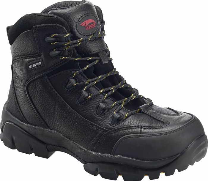 Avenger N7245 Men's Black, Comp Toe, EH, Waterproof Hiker