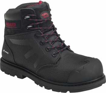 Nautilus/Avenger N7581 Hammer, Men's, Black, Comp Toe, EH, PR, WP, 6 Inch Boot