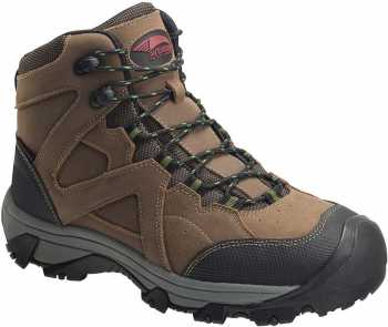 Nautilus/Avenger N7710 Crosscut, Men's, Brown, Steel Toe, EH, PR, WP, 6 Inch Boot