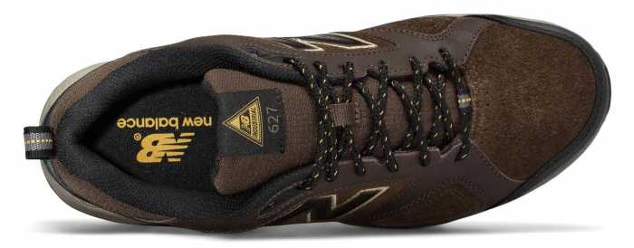 New Balance NBMID627O2 Men's, Brown, Steel Toe, SD, Low Athletic