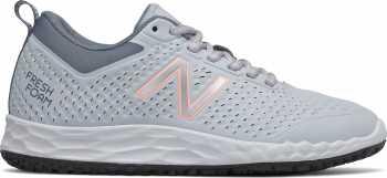 New Balance NBWID806P1 Fresh Foam, Women's, Grey/Pink, Slip Resistant, Work Shoe