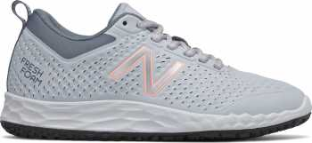 New Balance NBWID806P1 Fresh Foam, Women's, Grey/Pink, Slip Resistant, Work Shoe