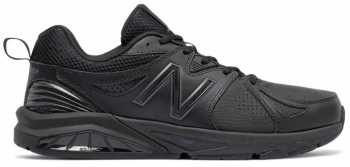 New Balance WX857AB2 Women's Motion Control Trainer, Black, Soft Toe, Slip Resistant Athletic