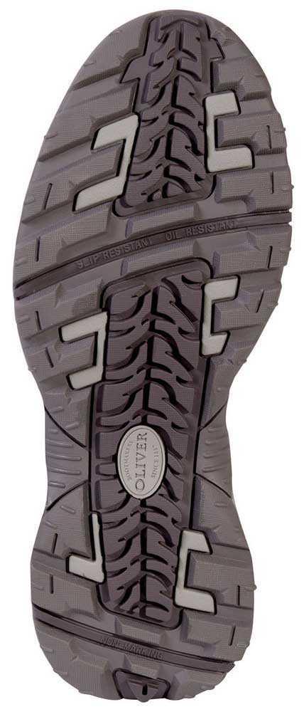 Oliver OL11112 Men's Black/Grey, Steel Toe, EH Hiker