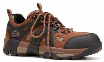 Oliver OL11114 Men's, Brown, Steel Toe, EH, Hiker Oxford