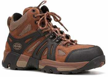 Oliver OL11115 Men's Brown, Steel Toe, EH, Mid High Hiker