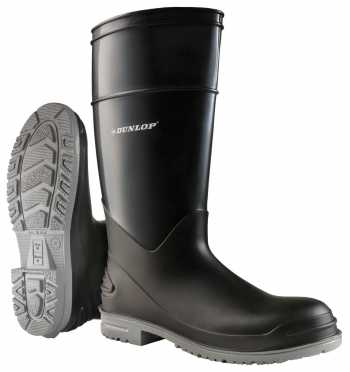 Onguard ON89682 Goliath, Men's, Black, Steel Toe, EH, Polyblend, Pull On Boot
