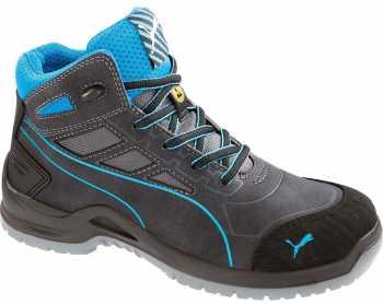 Puma PU634055 Women's, Beryll Blue, Steel Toe, SD, Mid High