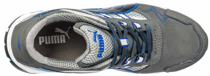 Puma PU642595 Pace, Men's, Grey/Blue, Comp Toe, SD, Low Athletic