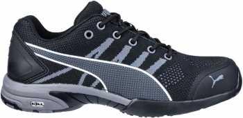 Puma PU642925 Celerity, Women's, Black, Steel Toe, SD, Low Athletic