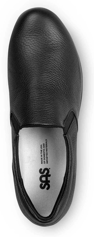 SAS SAS2680013 Patriot, Women's, Black, Slip Resistant, Soft Toe, Slip On