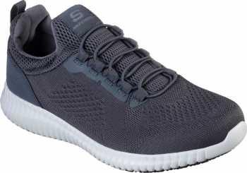 SKECHERS Work SK77188CHAR Cessnock, Men's, Charcoal, Soft Toe, EH, Slip Resistant Casual