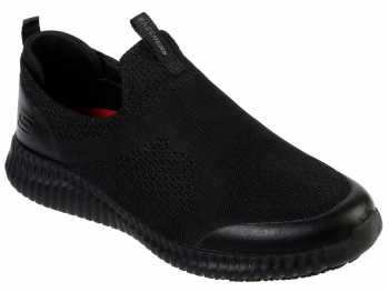 SKECHERS Work SK77501BLK Cessnock-Colleton, Men's, Black, Soft Toe, EH, Slip Resistant Casual