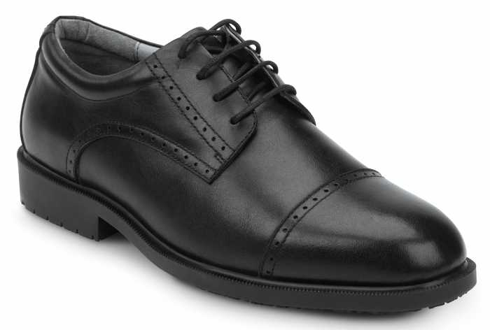 SR Max SRM3020 Augusta, Men's, Black, Dress Style Soft Toe Slip Resistant Work Shoe