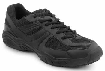 SR Max SRM1600 Austin, Men's, Black, Athletic Style Slip Resistant Soft Toe Work Shoe