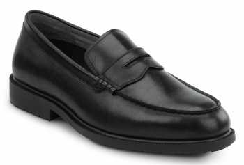 SR Max SRM3010 Burlington Men's Black Slip Resistant Penny Loafer