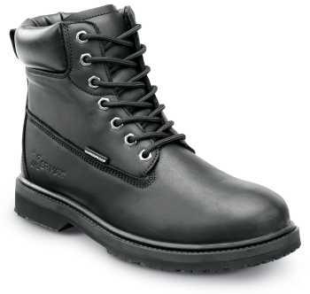 SR Max SRM5510 Duluth, Men's, Black, Slip Resistant, Waterproof, Soft Toe 6 Inch Work Boot