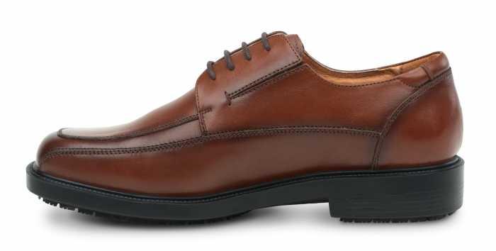 SR Max SRM3050 Manhattan, Men's, Brown, Dress Style Soft Toe Slip Resistant Work Shoe
